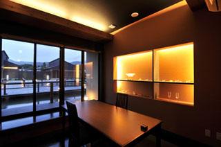きりしま悠久の宿一心 ゆっくりと食事を楽しむことができる個室食事処