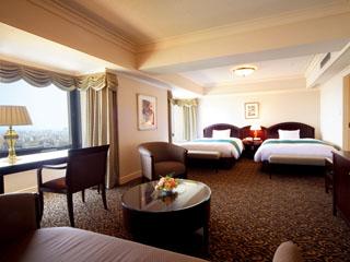城山観光ホテル(2018年5月8日より:城山ホテル鹿児島) バリアフリー対応やファミリータイプ、レディースルームなど全21タイプの部屋