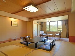 定山渓万世閣ホテルミリオーネ 開放感のあるお部屋で、ゆったりとした時間を満喫