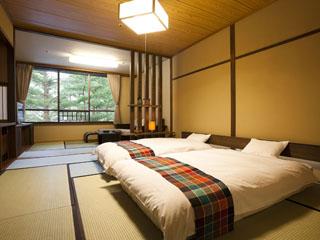 星野リゾート 青森屋 青森の工芸品が設えに使われた新客室