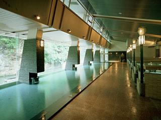湯の杜ホテル志戸平 25mの大きいお風呂が自慢