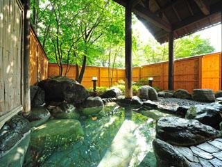 生寿苑 まるで化粧水のように透明でなめらかな猿ヶ京の湯とゴロゴロ石が心地よく癒す内湯