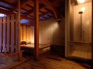 草津温泉 望雲 客室露天風呂