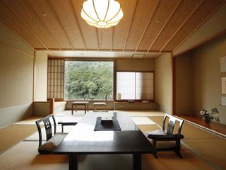ことひら温泉琴参閣 和室、洋室、露天風呂付と様々な部屋タイプでお待ちしております