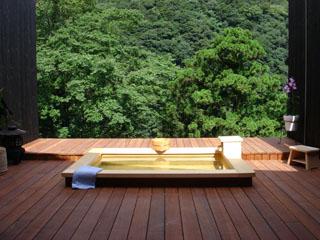 くつろぎの宿 静観荘 客室「萌黄」の露天風呂
