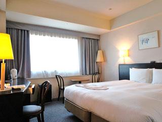 横浜テクノタワーホテル 全室19階以上の客室は東京湾や富士山を一望できる