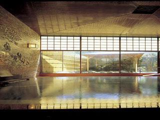 熱海金城館 ゆったり感に満ちた広々とした大浴場