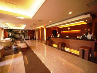 ホテルルートイン札幌中央 5階フロント24時間対応