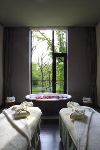 軽井沢プリンスホテル イースト 開放感のあるスパトリートメントで心身ともにリフレッシュ