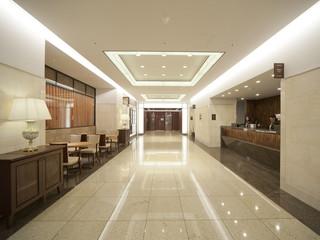 ハートンホテル北梅田 清潔感あふれる館内