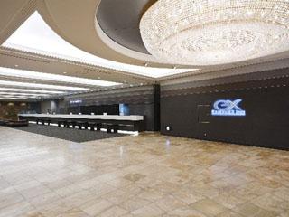 京急EXホテル品川(旧:京急EXイン品川駅前(シナガワグース内)) ビジネスホテルとは思えないロビー