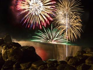 ザ レイクビュー TOYA 乃の風リゾート 4月下旬~10月末日までは「洞爺湖ロングラン花火大会」を露天風呂から楽しめる