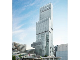 大阪マリオット都ホテル 日本一高いビル「あべのハルカス」上層部に位置する