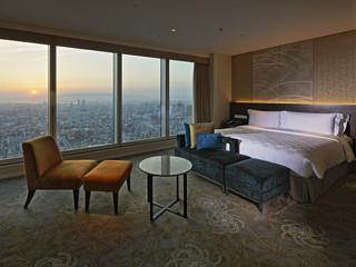 大阪マリオット都ホテル 38~55階に位置する全客室はパノラマビュー対応