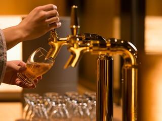 星野リゾート 界 アンジン 湯上がり処ビールサーバー