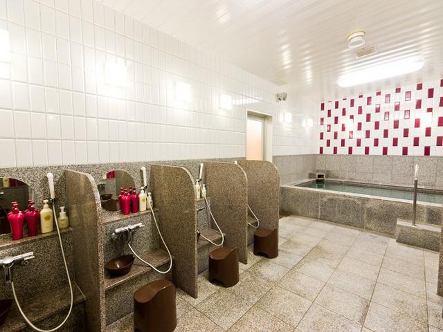 ホテル法華クラブ札幌 女性浴場の入口には暗証番号による電子ロックキーを採用。安心してご利用できます