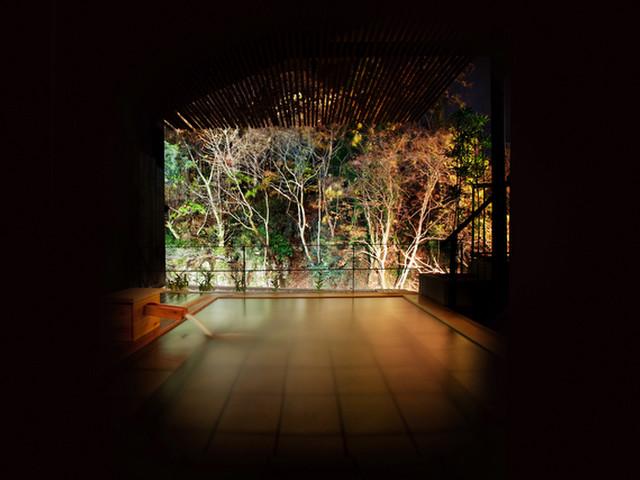 絶景露天風呂と貸切風呂が自慢の宿 東山温泉 庄助の宿 瀧の湯 露天風呂
