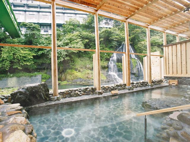 異なる源泉で湯めぐりを体験できる「湯仙峡」