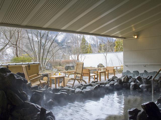 日光千姫物語 平成23年改修のお風呂でのんびりと