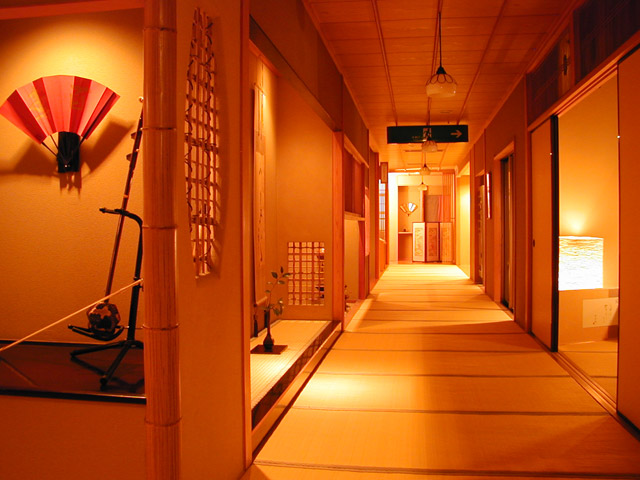 お宿玉樹 全館畳廊下の純和風旅館