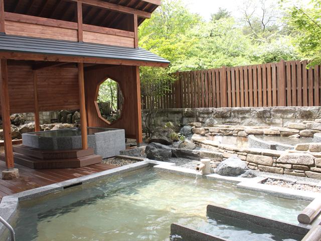ホテルヴィレッジ 草津では珍しい3つの源泉のホテル