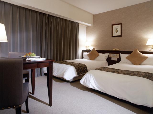 ホテルフランクス スタイリッシュで清潔な居心地の良さが人気の客室