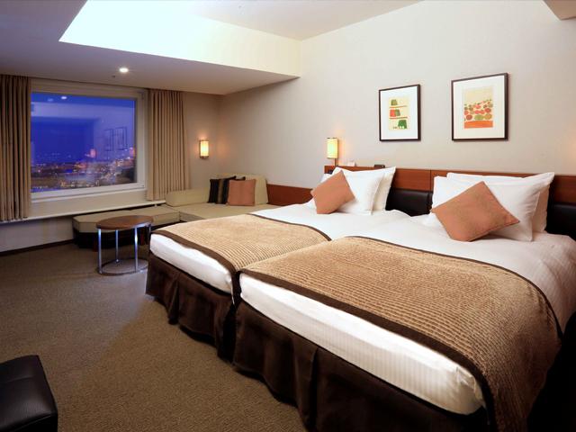 心地よい眠りにこだわった特別フロア。ホテル滞在を充実させるスパ無料などの特典も