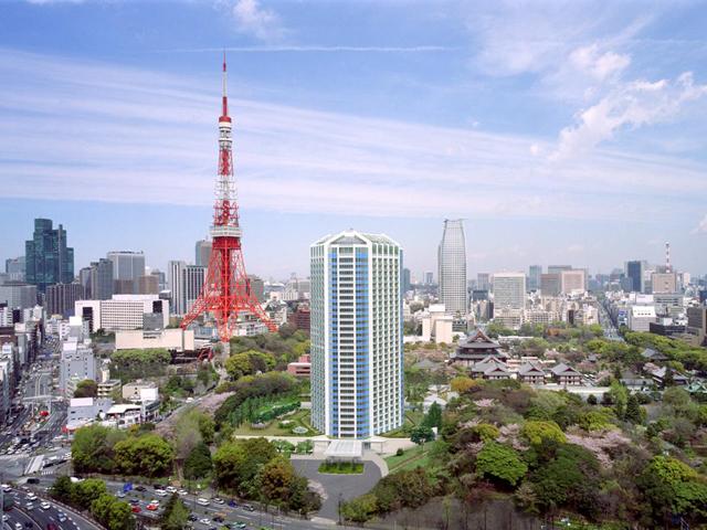 ザ・プリンス パークタワー東京 都心とは思えない緑に囲まれたホテルです
