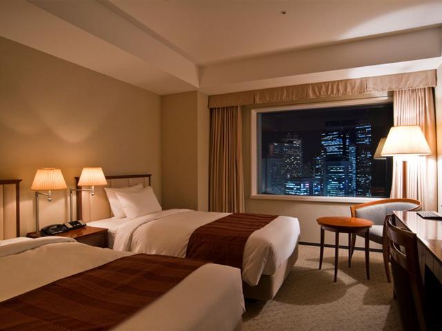 小田急ホテルセンチュリーサザンタワー 375室ある全客室は22階から35階に位置