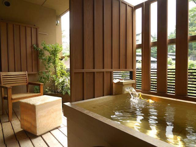 箱根強羅温泉季の湯雪月花 全室テラス露天風呂を備えた寛ぎのお部屋をご用意