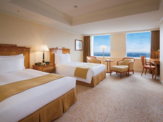 名古屋マリオットアソシアホテル デラックスツインルーム