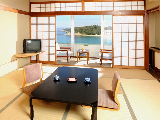 ホテル三楽荘 全室海側の心落ち着く和室「一般客室」