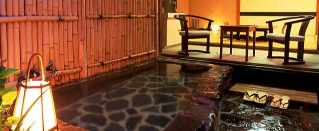 白浜館 人目を気にせずゆっくりと温泉を楽しめる露天風呂付客室