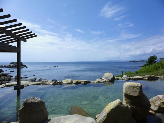 浜千鳥の湯 海舟 南紀白浜唯一の混浴露天風呂「浜千鳥の湯」