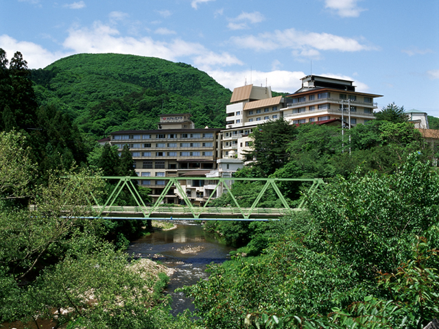 湯の杜ホテル志戸平 大自然に囲まれたリゾートホテル
