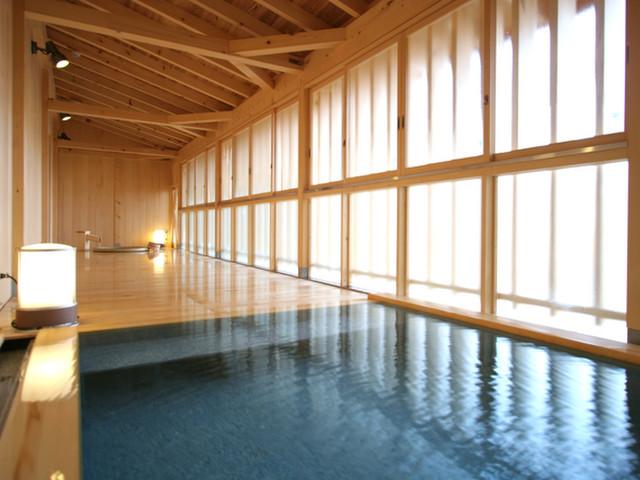 生寿苑 総ヒバ造りの貸切風呂は空いてればいつでも無料で使える