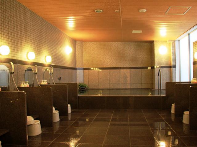 ホテルルートイン札幌中央 男女別大浴場5階