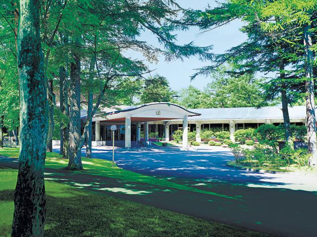 軽井沢プリンスホテル イースト 美しく、静寂な軽井沢の森に抱かれ佇むイースト