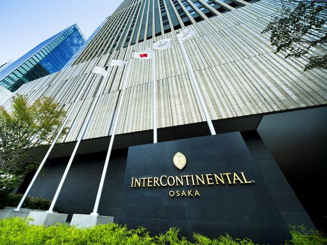 インターコンチネンタルホテル大阪 JR大阪駅より徒歩5分の好立地を誇る