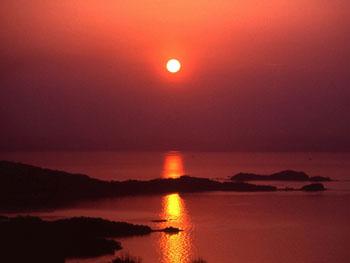 「夕日の美しい宿」全国3位に選ばれました