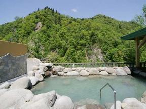 定山渓温泉 湯の花(北海道)