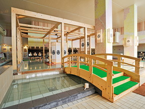 ガーデン スパー 箕面 温泉
