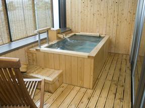 ホテル櫻井 客室の露天風呂