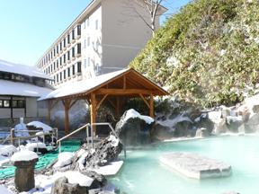 万座高原ホテル 石庭露天風呂