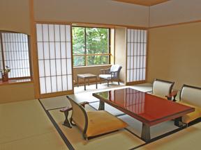 那須温泉山楽 しっとりした数寄屋造りの風情を楽しむ