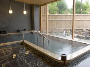 強羅天翠 大浴場でのんびり良質の湯を楽しむ