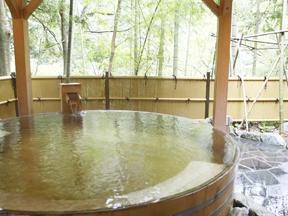 小田急 ホテルはつはな 女性専用スパ「やまざくら」樽風呂