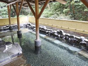 箱根湯本ホテル 広々とした露天風呂で長々と手足を伸ばす贅沢