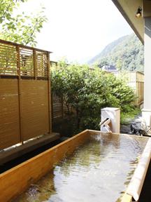 ホテル河鹿荘 露天風呂「うたたねの湯」
