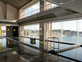 勝浦ホテル三日月 展望温泉飛天の湯「殿方の湯」